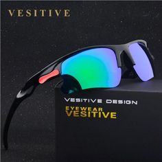 FuzWeb:design New male Square Polarized Sunglasses Men Driving Glasses Shade Black Eyewear Gafa Oculos