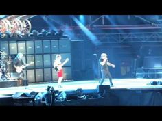 Concierto ACDC Madrid 2 junio - for those about to rock - YouTube