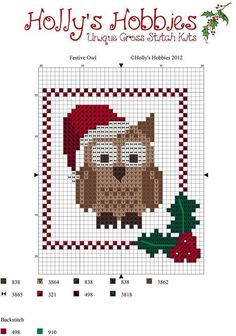 cross stitch ornament chart