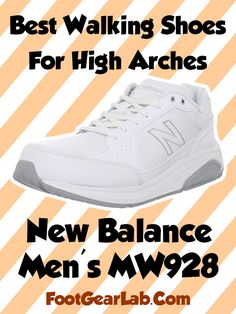 New Balance Men's MW928 - Best Walking Shoes For High Arches Men - @footgearlab