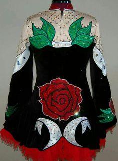 KDSF Irish Dance Solo Dress Costume ~~Back~~