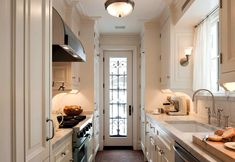Kitchen in an 1890s New York Brownstone: John B. Murray Architect