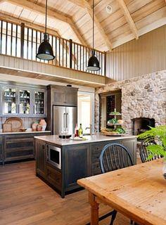 jolie cuisine gris perle et bois (Ikea veddinge) et crédence en ...