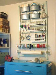 Hooks, racks, buckets and rails
