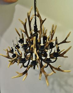 1:12 scale Antler Chandelier