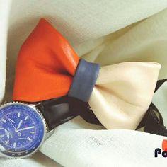 Instagram media by popties - Wear bright colours for the spring! ♡ #popties #bowtiesarecool #bowtienation #lookbook #instaitalia #igeritalia #etsy #shop #2014 #fashionable #fashion #picoftheday #photooftheday #moda #formale #leatherbowtie #leather #pelle #orange #farfallino #fattoamano  #madeinitaly #instadaily #menswear #guyswithstyle #guy #gay #gq #style #handcrafted