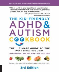 Learn to cook delicious food that will help your child's behaviour, focus, and development with The Kid-Friendly ADHD & Autism Cookbook, complete with an up-to-date review of common speciality diets for ADHD and autism treatment. The Kid-Friendly ADHD & Autism Cookbook provides a current review of the commonly used diets for the treatment of ADHD and autism, and recipes appropriate to specific diets. It also provides suggestions for feeding picky eaters, including those with texture issues. Diet For Children, Most Effective Diet, Diet Motivation Quotes, Diets That Work, Adhd And Autism, Food Intolerance, Diet Humor, Kids Behavior, Vestidos