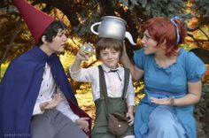 Over the garden wall cosplay Super Hero shirts, Gadgets