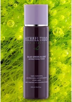 Blue Green Algae™ Toner Hydrating Antibacterial Toner organic  BENEFITS: Promotes cellular turnover ------Speeds the elimination of toxins -----Preps skin for serums and moisturizers -----Maintains skin's proper pH -----Helps fight off infections with spicy tea tree oil ------Heals and nurtures with black willow tree extract ------Rich with anti-inflammatory and antibacterial ingredients