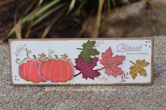 Priscilla's Paperie: Blessed Beyond Measure - Stamp of the Month