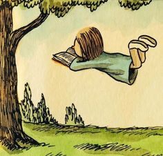 Bücher lesen lernt fliegen
