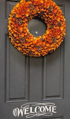 Fall Wreath Front Door | Decorchick!®