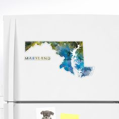 Maryland   #maryland #state #unitedstates #usa #map #art #print #sticker #stationery #gift #ideas #travel #abstract #minimalist #annapolis #baltimore #montgomery #county #germantown #city #america #country