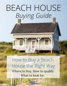 How to buy a beach house the right way: So you're thinking about buying a second home? Who hasn't dreamed of owning their very own beach house? A vacation rental property may be it, or you may want to buy a beach house for your personal enjoyment. Buying Investment Property, Rental Property, Cozy Cottage, Cottage Living, Coastal Living, Beach Cottage Exterior, Beach House Kitchens, Florida, Beach Cottages