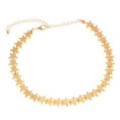 Vintage Star Choker Necklace