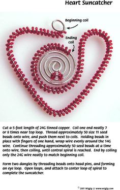 Heart Suncatcher -- WigJig tutorial