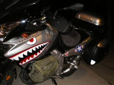 V-Strom Group Buy: Custom P-40 Warhawk (Shark Teeth) Graphics - ADVrider