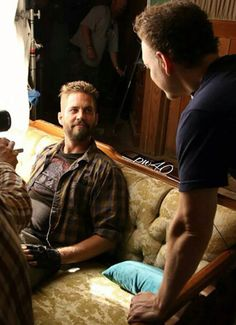 On set of Pawn Shop Chronicles