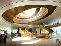 Design by 3XN Architects. ///  Diseño por 3XN Arquitectos. #d_signers
