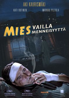 "CINEMA: ""Mies vailla menneisyyttä"" / ""The Man Without A Past"" (Äki Kaurismäki, 2002). Film Director, Film Posters, Viral Videos, Cannes, Grand Prix, Trending Memes, Finland, I Movie, The Man"
