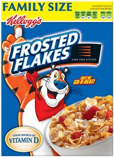 Frosted Flakes Cereal Family Size 275Ounce Boxes Pack of 2 -- Check this awesome product by going to the link at the image. (This is an affiliate link and I receive a commission for the sales)