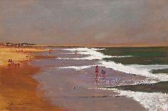 """Passing Storm, Long Beach Island, New Jersey"" by Anthony Michael Autorino (24"" x 36"") ($18,500)"