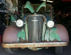 Is this Chevy truck covered in patina or is this just rust? Vintage Chevy Trucks, Chevy Diesel Trucks, Custom Chevy Trucks, Chevy Pickup Trucks, Chevy Pickups, Chevrolet Trucks, Gmc Trucks, Cool Trucks, Chevy Classic