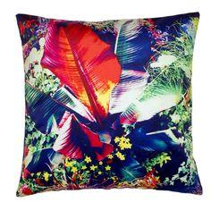 Madura Tahiti Decorative Pillow Cover, x Gold Pillows, Blue Throw Pillows, Throw Pillow Sets, Accent Pillows, Tahiti, Blue Home Decor, Madurai, Tropical Flowers, Decorative Pillow Covers