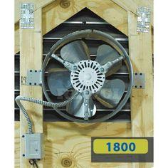 Lomanco Gable Mounted Attic Fan Attic Vent Fan, Attic Vents, Solar Powered Attic Fan, Solar Attic Fan, Generator Shed, Power Generator, Gable Vents, Whole House Fan, Houses