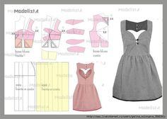 vestido juvenil