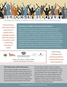 Download our brochure to learn more about the Heroes in Recovery movement and inspiration.