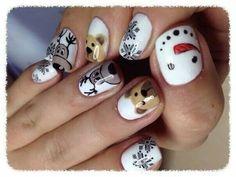 Christmasssss nails