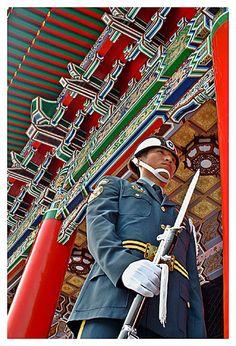 Martyrs' Shrine, Taipei, Taiwan  忠烈祠