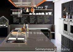 Как сделать грифельные покрытия для стен на кухне