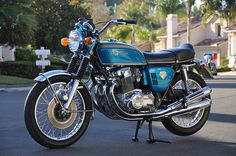 1970 CB750 my first New Bike  Immortalized in the Guggenheim Museum Motorcycle Exhibit as the Original Super Bike!