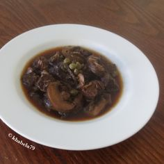 Dinner – Coffee & Aceto Balsamico Beef Stew