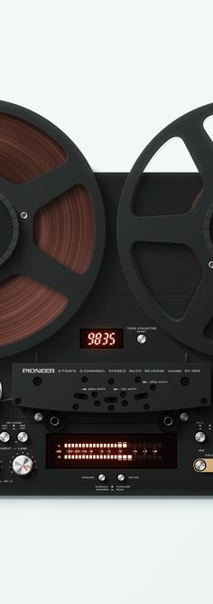 Pioneer RT-909 Illustration by Artem Shykov - www.remix-numerisation.fr - Rendez vos souvenirs durables ! - Sauvegarde - Transfert - Copie - Restauration de bande magnétique Audio - MiniDisc - Cassette Audio et Cassette VHS - VHSC - SVHSC - Video8 - Hi8 - Digital8 - MiniDv - Laserdisc