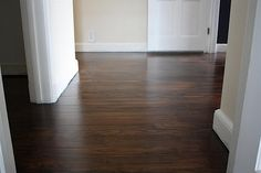 finishing hardwood floors!