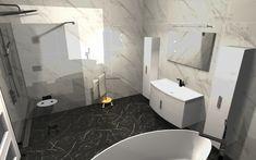 Praca konkursowa z wykorzystaniem mebli łazienkowych z kolekcji ROUND #naszemeblenaszapasja #elitameble #meblełazienkowe #elita #meble #łazienka #łazienkaZElita2019 #konkurs Toilet, Bathtub, Bathroom, Design, Standing Bath, Washroom, Bath Tub, Litter Box, Bathtubs