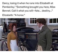 Pride And Prejudice Book, Jane Austen Novels, Nerd Problems, Favorite Movie Quotes, Mr Darcy, Lady Jane, Drama Memes, Fandom Crossover, Classic Literature