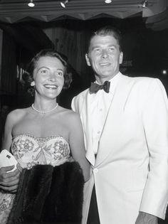 Ronald Reagan and Nancy Davis Reagan