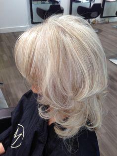 Fabulous ! #greyhair #silverhair