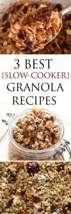 3 Best Slow Cooker Granola Recipes