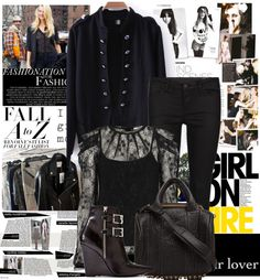 """""""Outfit Ideas For Fall"""" by lidia-solymosi ❤ liked on Polyvore"""