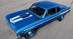 Don Yenko built only 38 Chevy Nova muscle cars back in 1969 and this fully restored example is one of the 9 known to exist. See more details on this beauty.