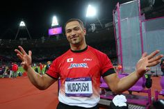 koji murofushi.  the most beautiful man of 2012 olympics.      thump thump goes my heart!