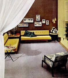 1951 living room design.