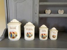 Wedding boards, Blackboards, chalkboard, French gifts, by Blackboardsandbits Storage Canisters, Jar Storage, Brittany France, Great Wedding Gifts, Blackboards, French Vintage, Anniversary Gifts, Birthday Gifts, Pots