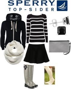 """Weekend Wear with Sperry Top-Sider"" by jenalind ❤ liked on Polyvore"