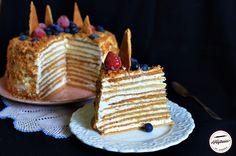 Tort Medovik-reteta pas cu pas Deserts, Sweets, Food, Cooking Recipes, Gummi Candy, Candy, Essen, Postres, Goodies